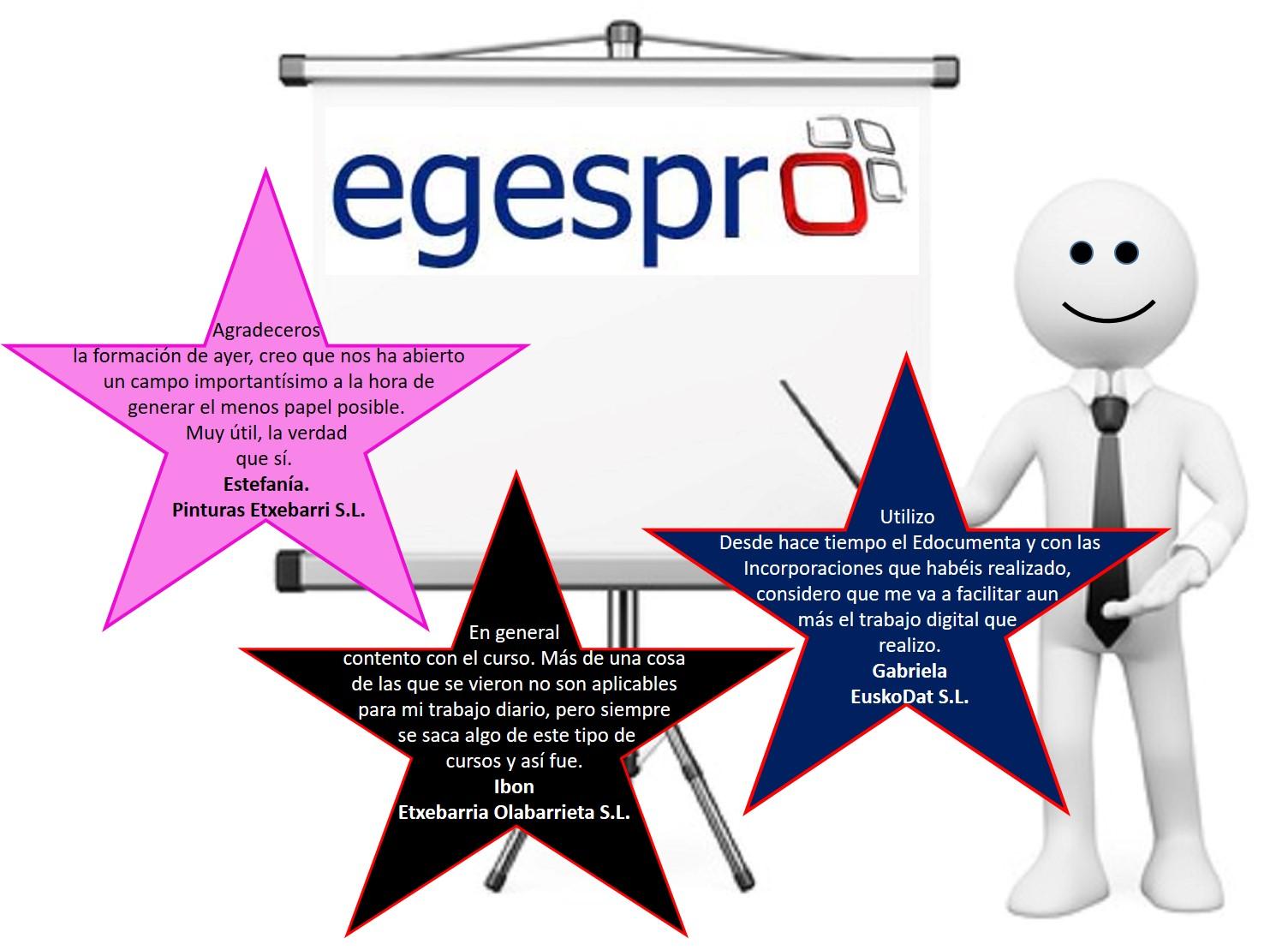 Curso Egespro Actualización 2017