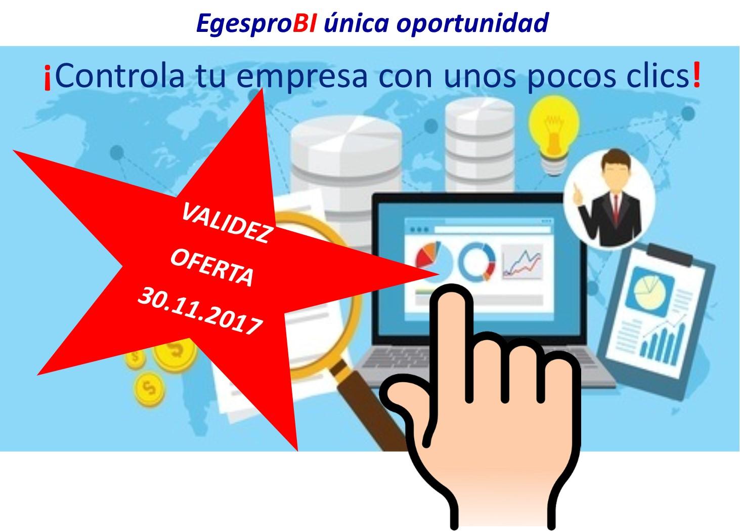 Oferta EgesproBI. Promoción por lanzamiento de nuevo servicio de EuskoDat.