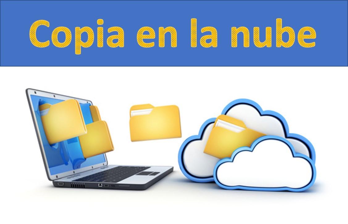 Copia en la nube. Nuevo servicio de seguridad de datos