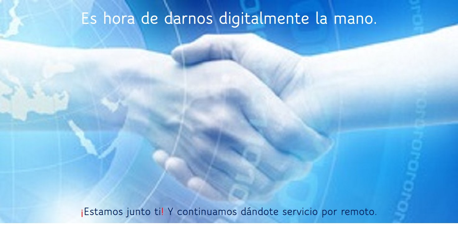 Darnos digitalmente la mano. Asistencia remota, EuskoDat
