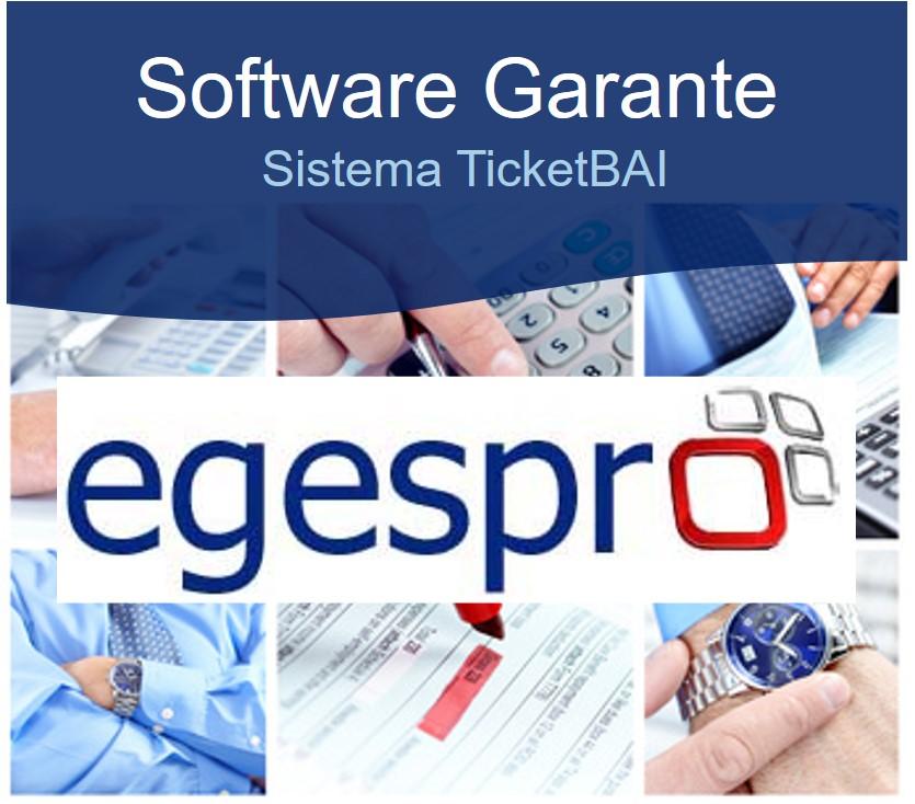 Software garante. ERP Egespro será software garante de Ticketbai de Batuz