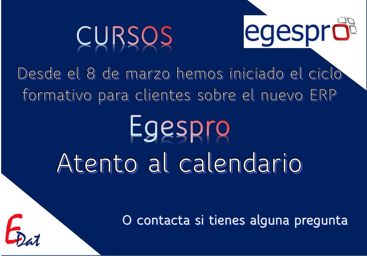 Anuncio cursos Egespro 2021